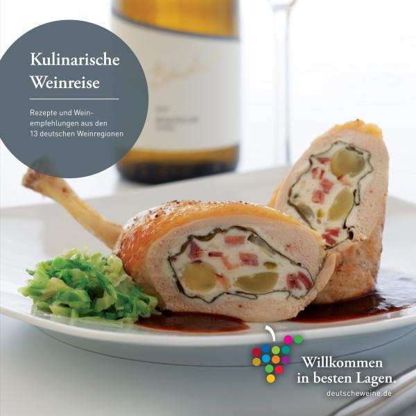 610 Kochbuch Kulinarische Weinreise Cookbook Wine Growing Regions