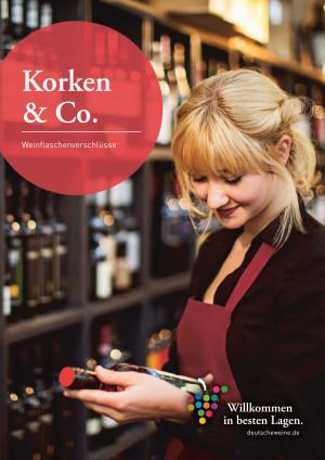 707 - Infoblatt / Info Broschures Korken & Co. - Weinflaschenverschlüsse